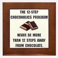 Chocoholics Program Framed Tile