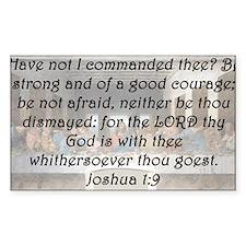 Joshua 1-9 Decal