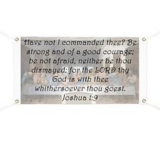 Joshua 1-9 Banner