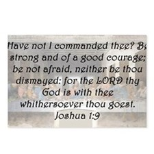 Joshua 1-9 Postcards (Package of 8)