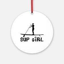 SUP_Girl-b Ornament (Round)
