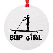 SUP_Girl-b Ornament