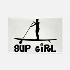 SUP_Girl-b Rectangle Magnet