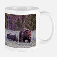Grizzly Bear 399 Small Mugs