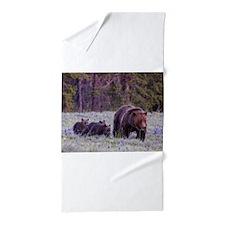 Grizzly Bear 399 Beach Towel