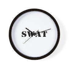 SWAT Wall Clock