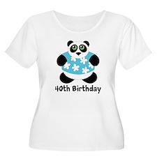 Personalized Panda Birthday T-Shirt
