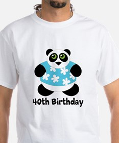 Personalized Panda Birthday Shirt