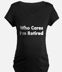 WHO CARES Maternity T-Shirt