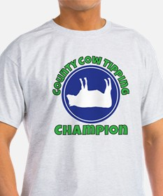 Cow tipping champion T-Shirt