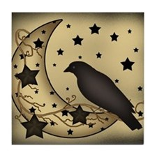 Starlight crow Tile Coaster