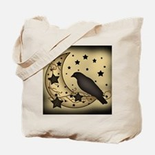 Starlight crow Tote Bag