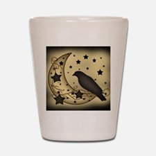 Starlight crow Shot Glass