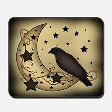 Starlight crow Mousepad