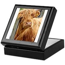 Highland Cow Keepsake Box