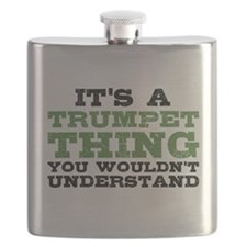 It's a Trumpet Thing Flask