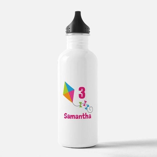 Personalized Birthday Kite Water Bottle