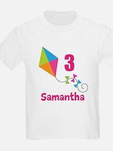 Personalized Birthday Kite T-Shirt