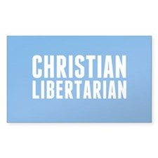 Christian Libertarian Decal