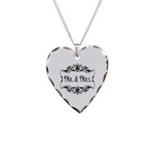 Mr. Mrs. Necklace Wedding Gift