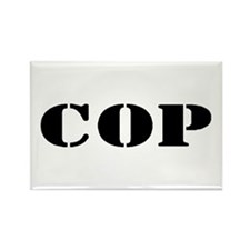 COP Rectangle Magnet (100 pack)