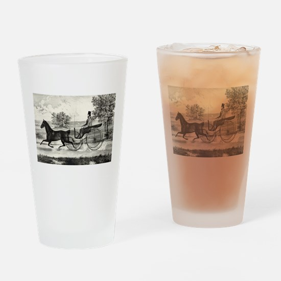The road,--summer - 1853 Drinking Glass