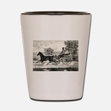 The road,--summer - 1853 Shot Glass