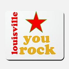 louisville you rock Mousepad