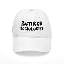 Retired Sociologist Baseball Baseball Cap