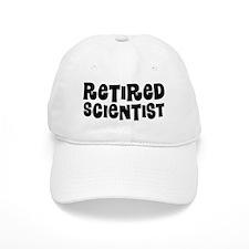 Retired Scientist Baseball Baseball Cap