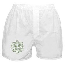 Weathered GreenMan Boxer Shorts