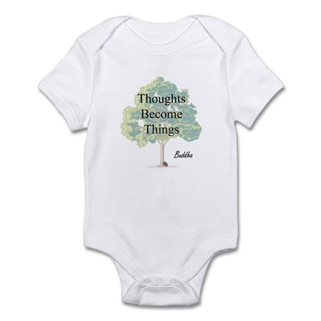Thoughts Become Things Infant Bodysuit
