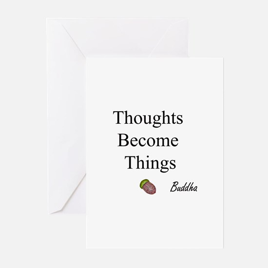 Thoughts Become Things Greeting Cards (Package of