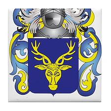MacKenzie Coat of Arms - Family Crest Tile Coaster