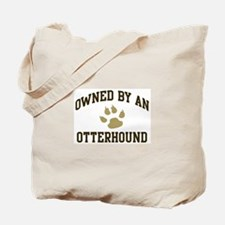 Otterhound: Owned Tote Bag