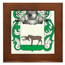Mackin Coat of Arms - Family Crest Framed Tile