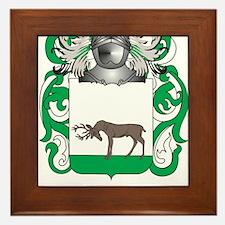 Mackin Coat of Arms - Family Crest Framed Tile