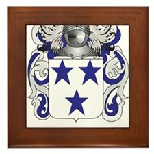MacKinness Coat of Arms - Family Crest Framed Tile