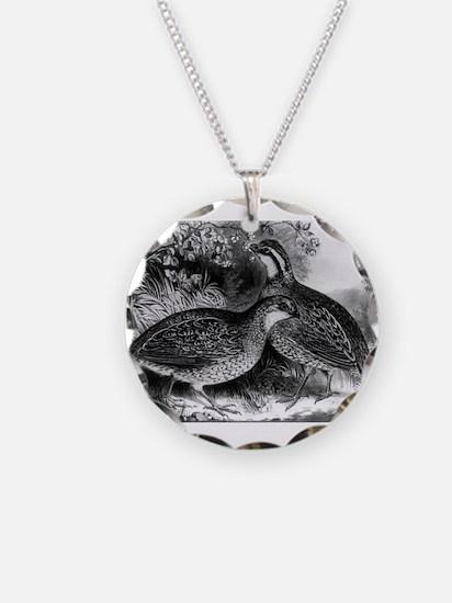Quail - or Virginia partridge - 1871 Necklace