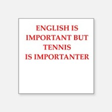 English games joke Sticker