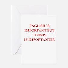 English games joke Greeting Cards