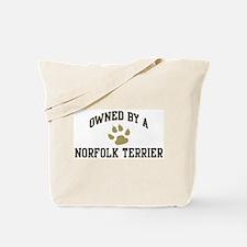 Norfolk Terrier: Owned Tote Bag