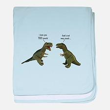 Tyrannosaurus Rex baby blanket
