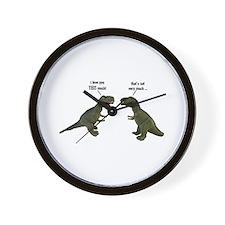 Tyrannosaurus Rex Wall Clock