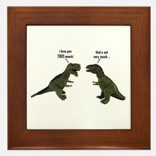 Tyrannosaurus Rex Framed Tile