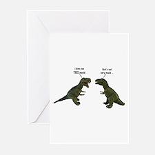 Tyrannosaurus Rex Greeting Cards (Pk of 20)
