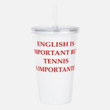 English games joke Acrylic Double-wall Tumbler