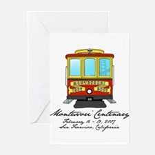 Cable Car Greeting Cards (Pk of 10)