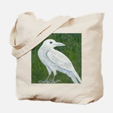 White Crow Tote Bag