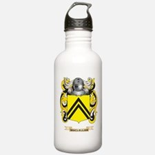 MacLellan Coat of Arms - Family Crest Water Bottle